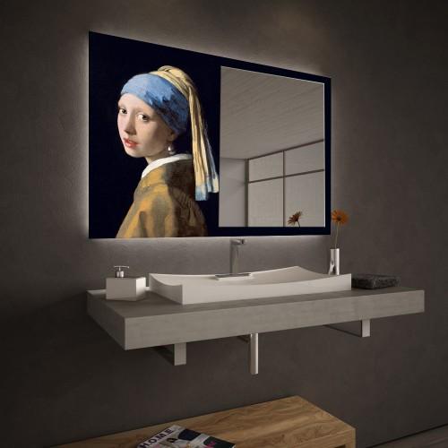 """Огледало Колекция """"ART""""011 Модел: Johannes Vermeer"""