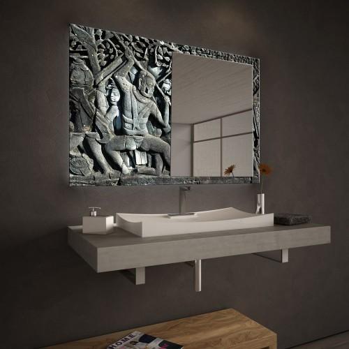 """Огледало Колекция """"ART""""015 Модел: Angkor Relief"""