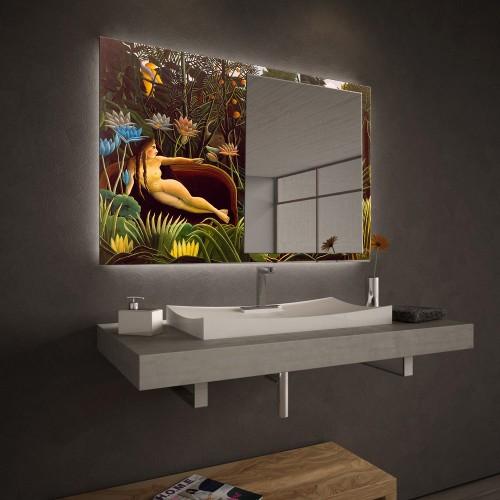 """Огледало Колекция """"ART""""007 Модел: Henri Rousseau"""