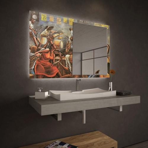 """Огледало Колекция """"ART""""008 Модел: Ernie Barnes"""