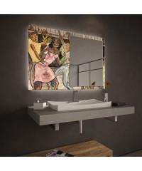"""Огледало Колекция """"ART""""009 Модел: Ernie Barnes"""