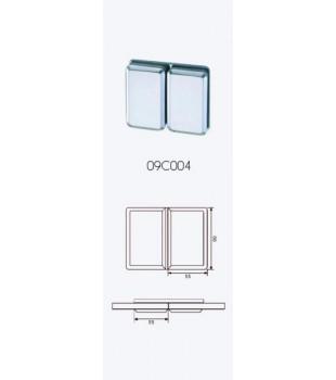 Държач стъкло/стъкло  180* голям