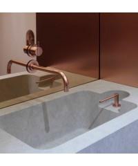 Калкулатор огледало 4мм бронзе и синьо праволинейна форма