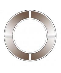 Калкулатор огледало 4мм бронзе неправолинейна форма