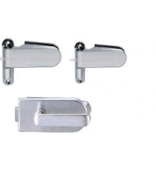 Комплект панти и брава за стъклена врата 5880