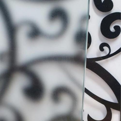 Матирано стъкло 8 мм - ЛЕК МАТ