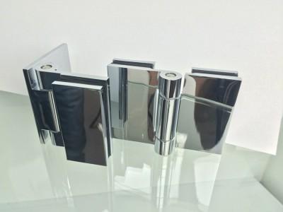 Панта-стъкло/стъкло и стена/стъкло Alpha Хармония 4444 HGG / 4444 HWG