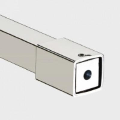 Конектори 19х19 полирана неръждаема стомана Скарбъроу стена-тръба   KAS 101