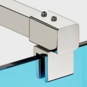 Конектори полирана неръждаема стомана Скарбъроу тръба-стъкло затапен KAS 103