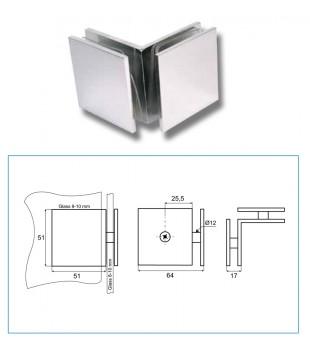 Стъклодържач стъкло/стъкло В