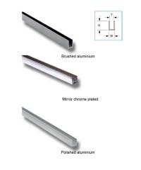 П-Профил за стъкло 10mm