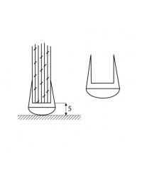 Уплътнение стъкло/под 6mm.U - балон 7777-401-2200