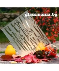 Орнаментно стъкло - БАМБУК