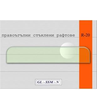 рафт с дебелина 6 мм размер 60 см х 15 см***